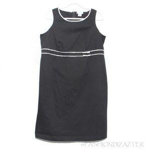 Motherhood Maternity dress sleeveless B&W Size M